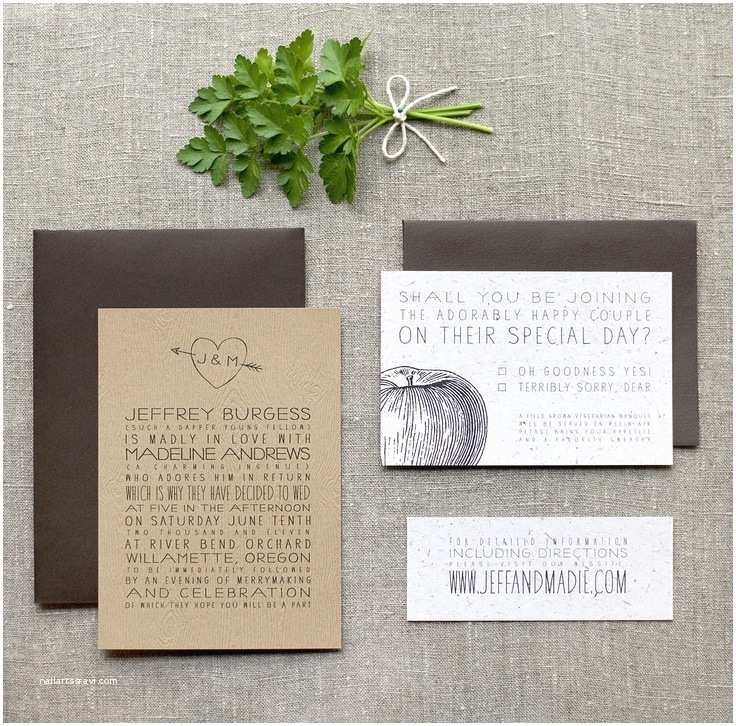 Recycled Paper Wedding Invitations Green Weddings Week Three Eco Stylish Wedding
