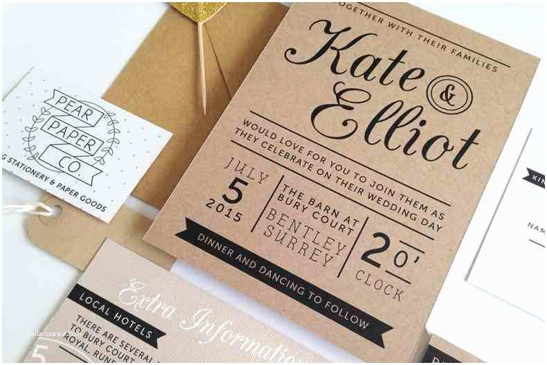 Recycled Paper Wedding Invitations Invitation with Floral Design Rhalawwa Rustic Barn