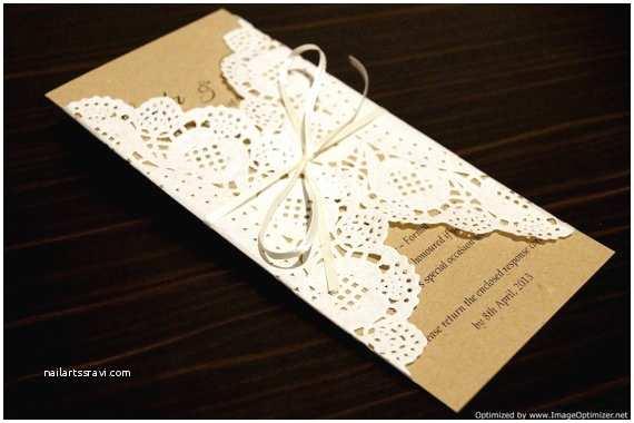 Recycled Paper Wedding Invitations Items Similar to Rustic Chic Wedding Invitation Deposit