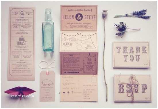 Recycled Paper Wedding Invitations Wedding Stationery