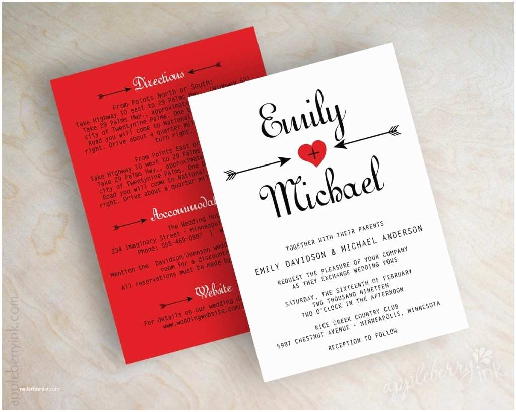 Red and White Wedding Invitations Black White Red Wedding Invitations 47 Dreamlike Diy Black