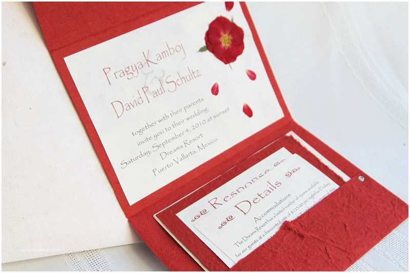 Red Rose Wedding Invitations Weddings Sleepy Hedgehog Press