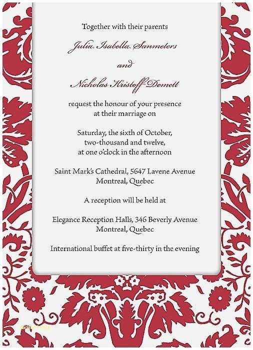 Red Wedding Invitation Templates Baby Shower Invitation Elegant Free Baby Shower Invite