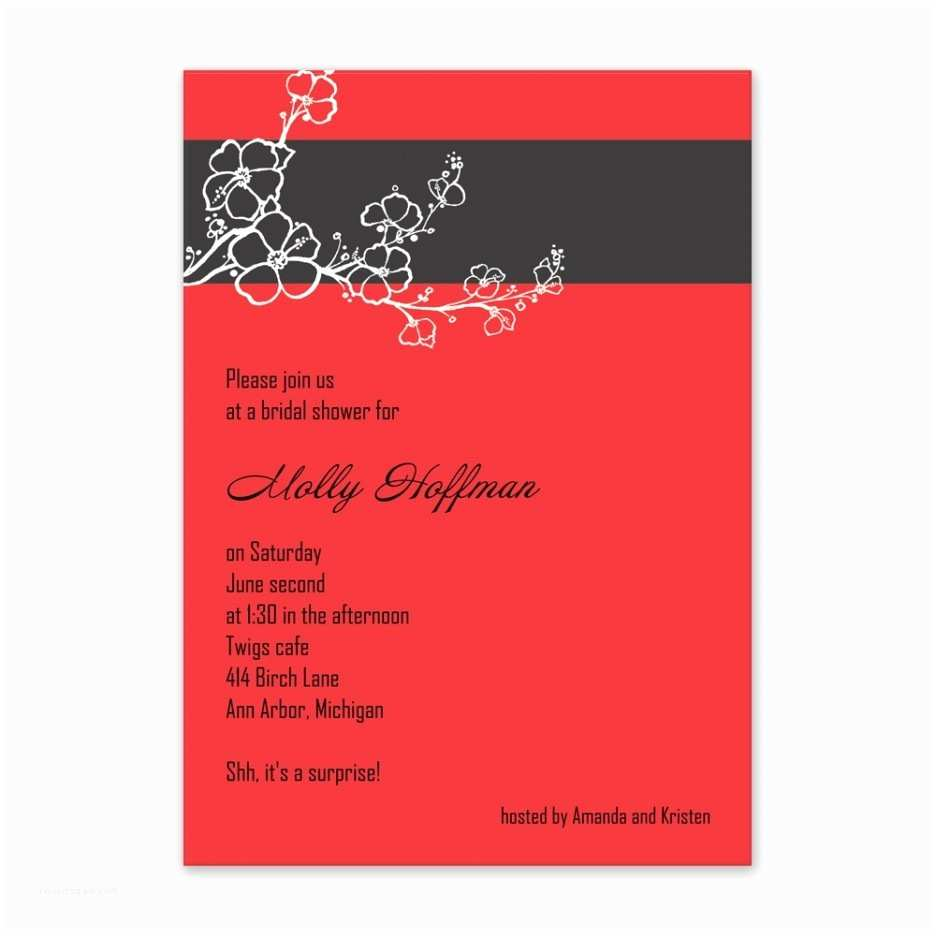 Red Wedding Invitation Templates Blank Red and Black Wedding Invitations D Wedding