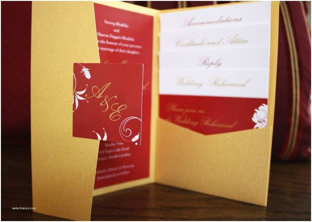 Red Wedding Invitation Templates Red Gold Wedding Invitation Google Search