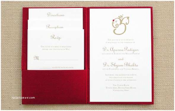Red White and Gold Wedding Invitations 10 Breathtaking Red and Gold Wedding Invitations to