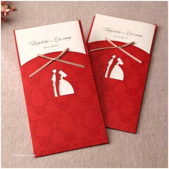 Red White and Gold Wedding Invitations 40 Most Elegant Ideas for Wedding Invitation Cards and