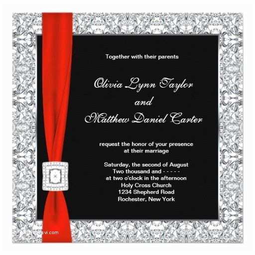 Red White and Silver Wedding Invitations 25 Best Ideas About Red Silver Wedding On Pinterest