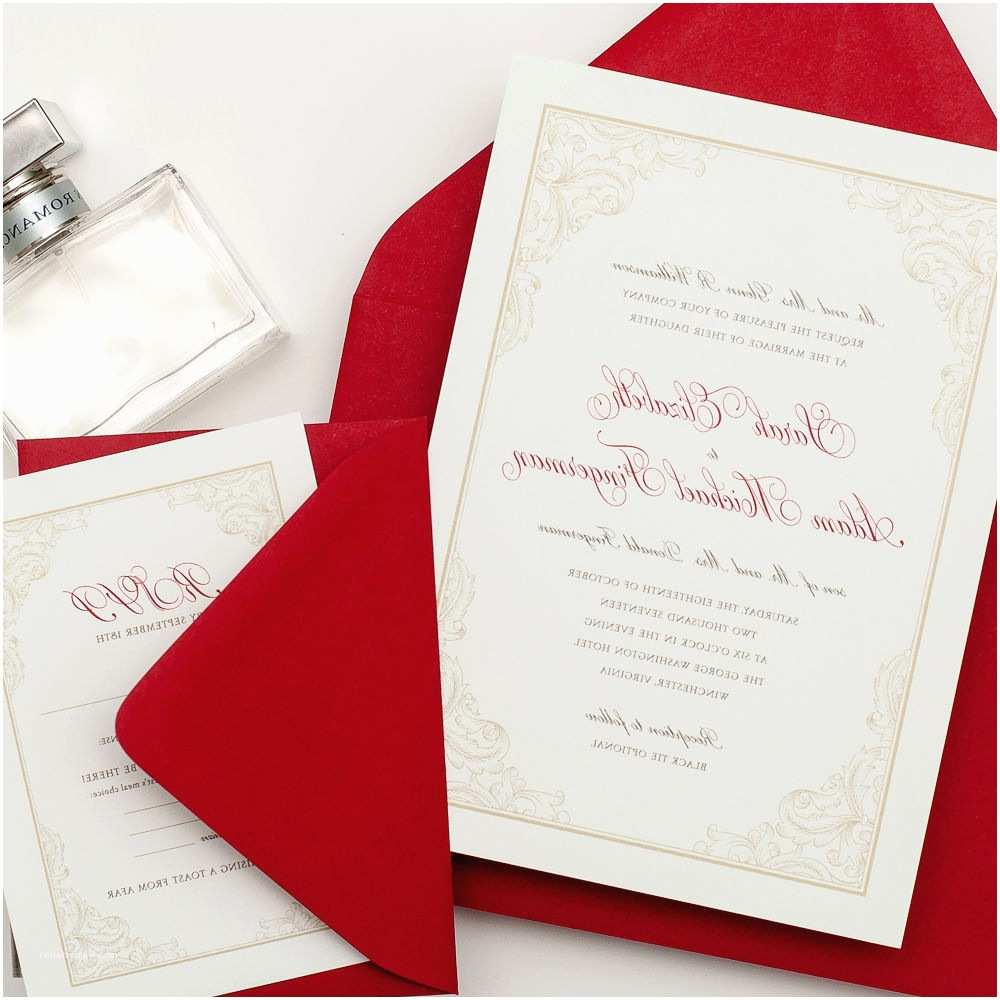 Red White and Silver Wedding Invitations White Silver and Red Wedding Invitations Decorating Party
