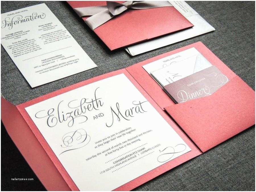 Red White and Silver Wedding Invitations Winter Wedding Invitations Red Black Silver and White