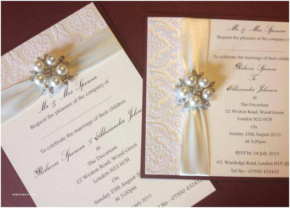 regency wedding invitations