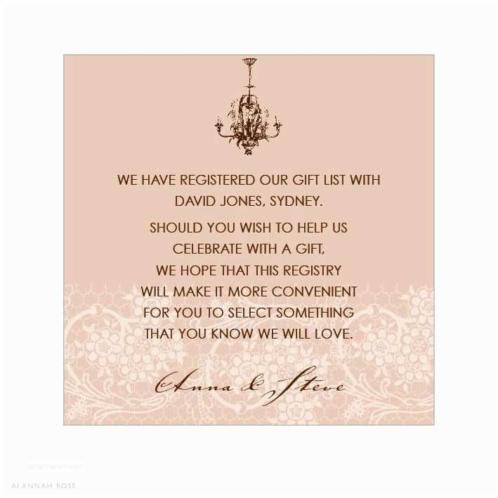 Registry On Wedding Invitation 12 Best Wedding Registry Wording Ideas Images On Pinterest