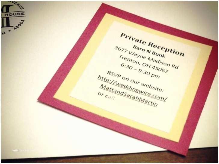 Registry On Wedding Invitation Tar Wedding Registry Invitation Inserts 44