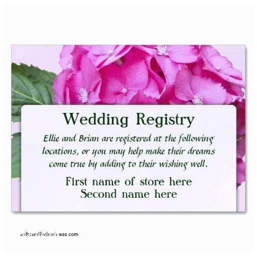 Registry On Wedding Invitation Wedding Invitation New Registry Inserts for Wedding