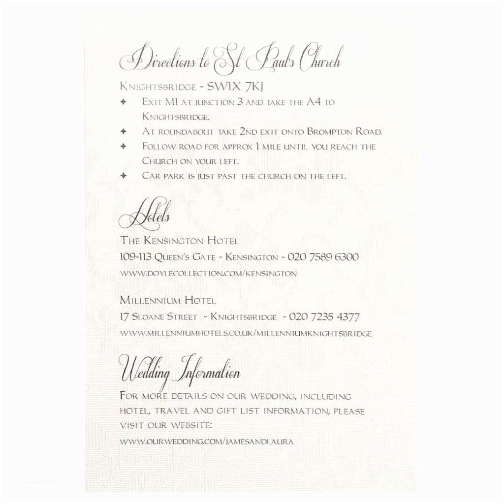Registry On Wedding Invitation Whisper Information Card Elegant for Weddi Can You Put