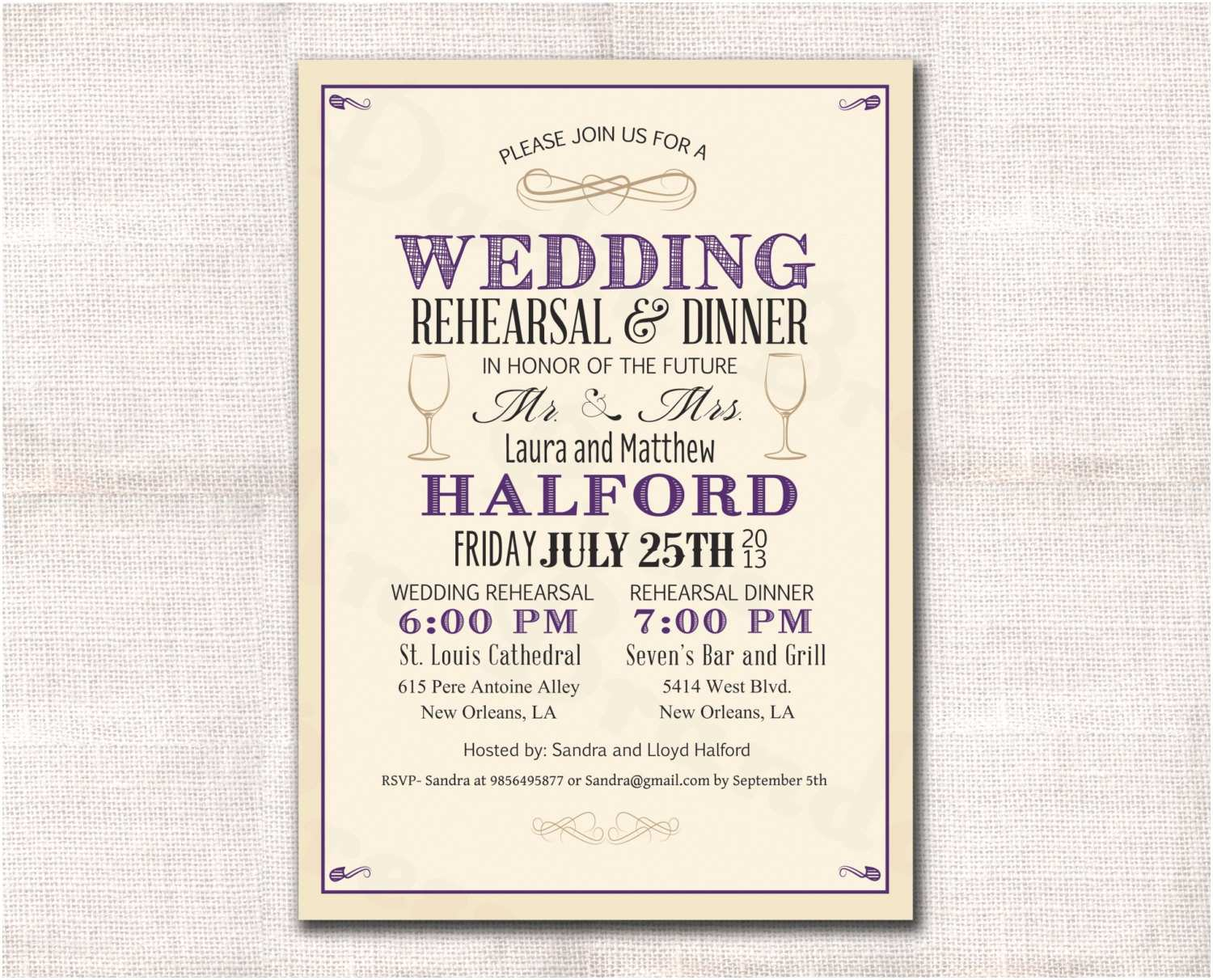 Rehearsal Dinner Invitation Template Amazing Professional Invitation Templates Image Collection