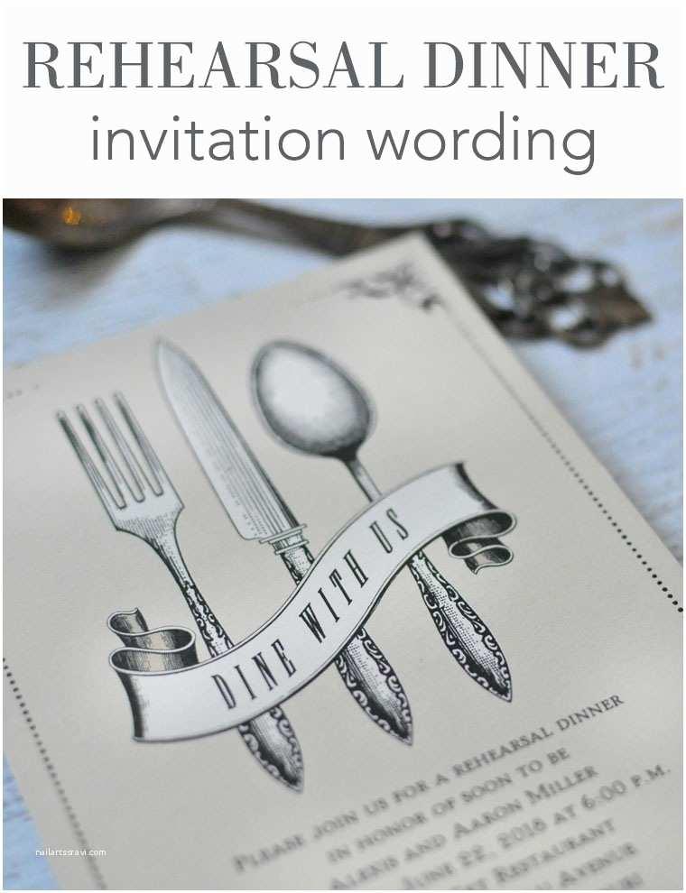 Rehearsal Dinner Invitation Wording Invitation Wording Dinner Choice Image Invitation Sample