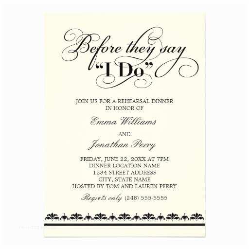 Rehearsal Dinner Invitations Wedding Rehearsal Dinner Invitation