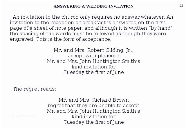 Reject Wedding Invitation Politely Sample Polite Way to Decline Club Invitation
