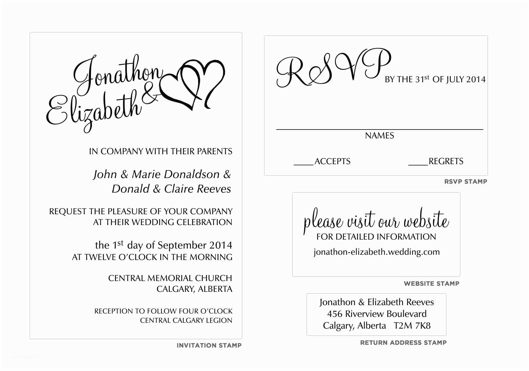 Reject Wedding Invitation Politely Sample Wedding Invitation Templates How to Decline A Wedding