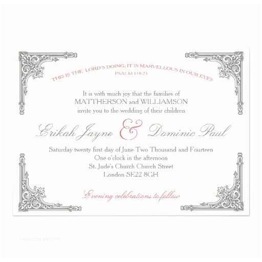 Religious Wedding Invitations Christian Quotes for Wedding Invitations Quotesgram