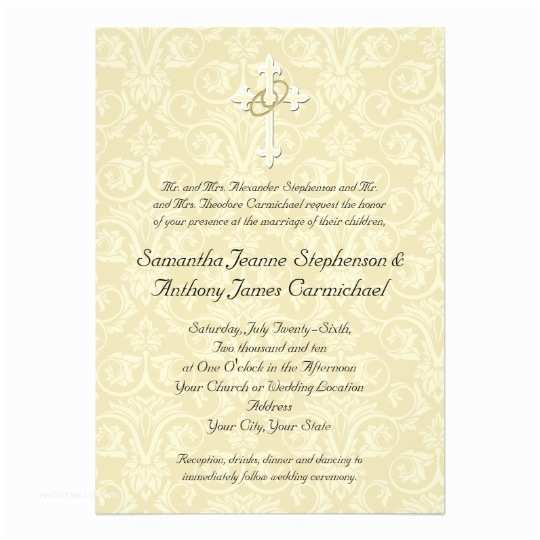 Religious Wedding Invitations Christian Wedding Invitations – Gangcraft