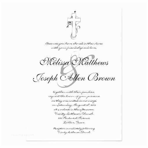 Religious Wedding Invitations Wedding Invitation Wording Wedding Invitation Templates