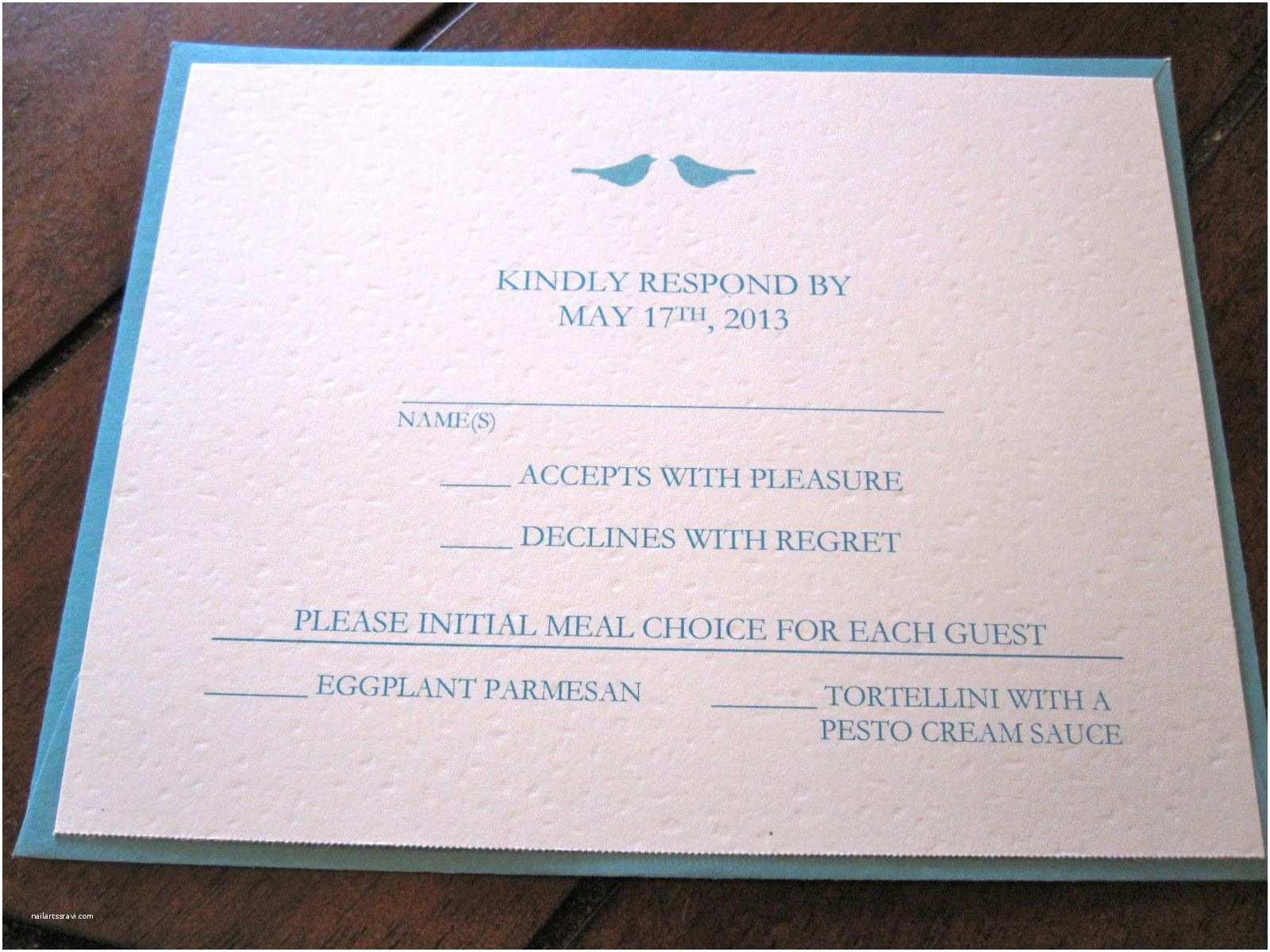 Reply to Wedding Invitation event Invitation Wedding Invitations Reply Cards Card