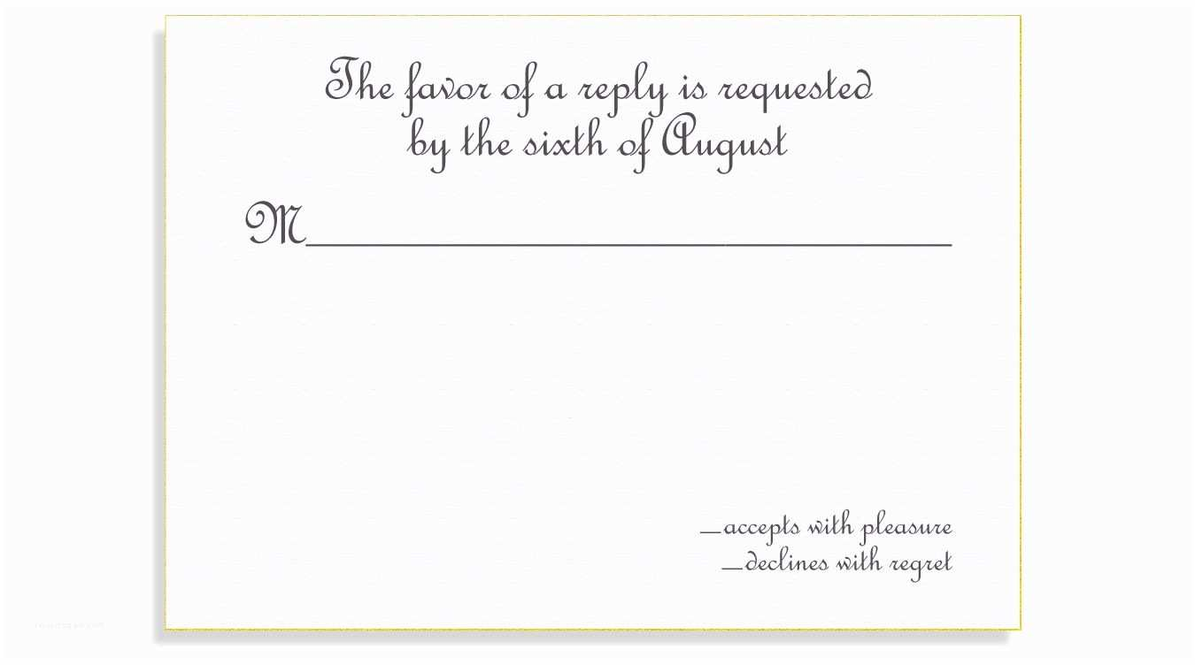 Reply to Wedding Invitation Wedding Invitation Reply Card Wording Wedding Invitation