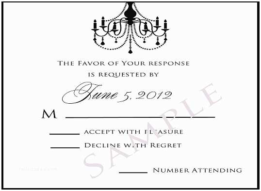 Reply to Wedding Invitation Wedding Invitations