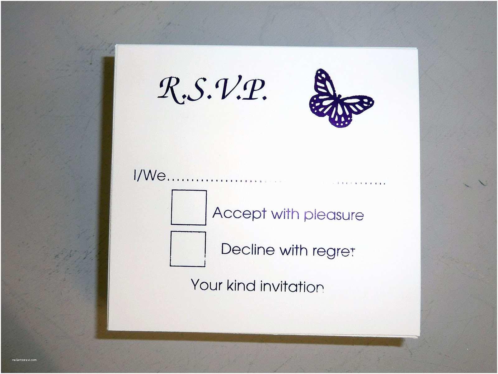 Reply to Wedding Invitation Wedding Invitations Reply Cards Wedding Invitations