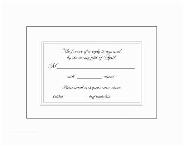 Response Card for Wedding Invitation Wording Wedding Invitation Response Card Fresh Wedding Response