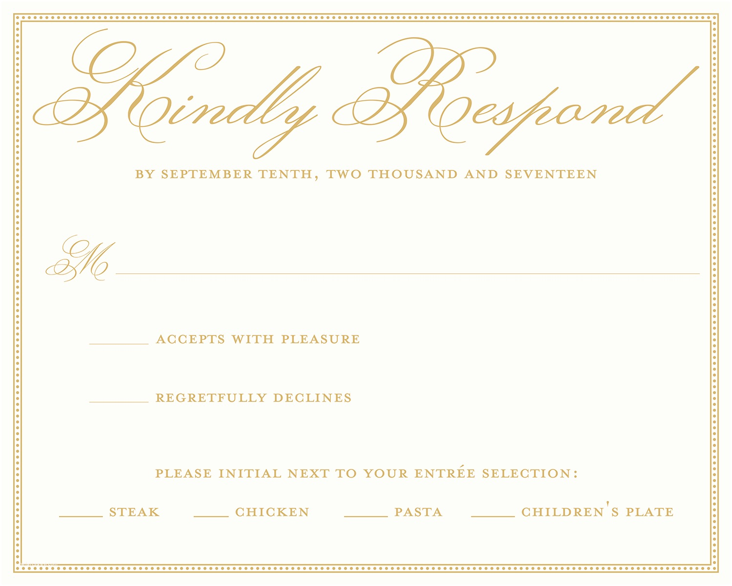 Response Card for Wedding Invitation Wording Wedding Rsvp Wording Ideas