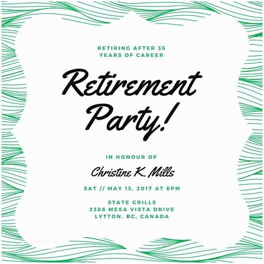 Retirement Invitation Template Retirement Party Invitation – Gangcraft