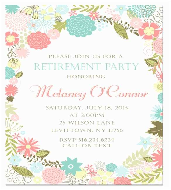 Retirement Invitation Template Retirement Party Invitation Template – 36 Free Psd format