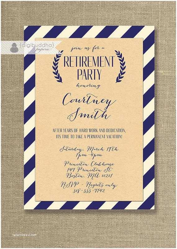 Retirement Invitation Templates Free Free Printable Retirement Party Invitations