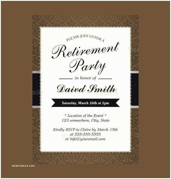 Retirement Invitations 12 Retirement Party Invitations