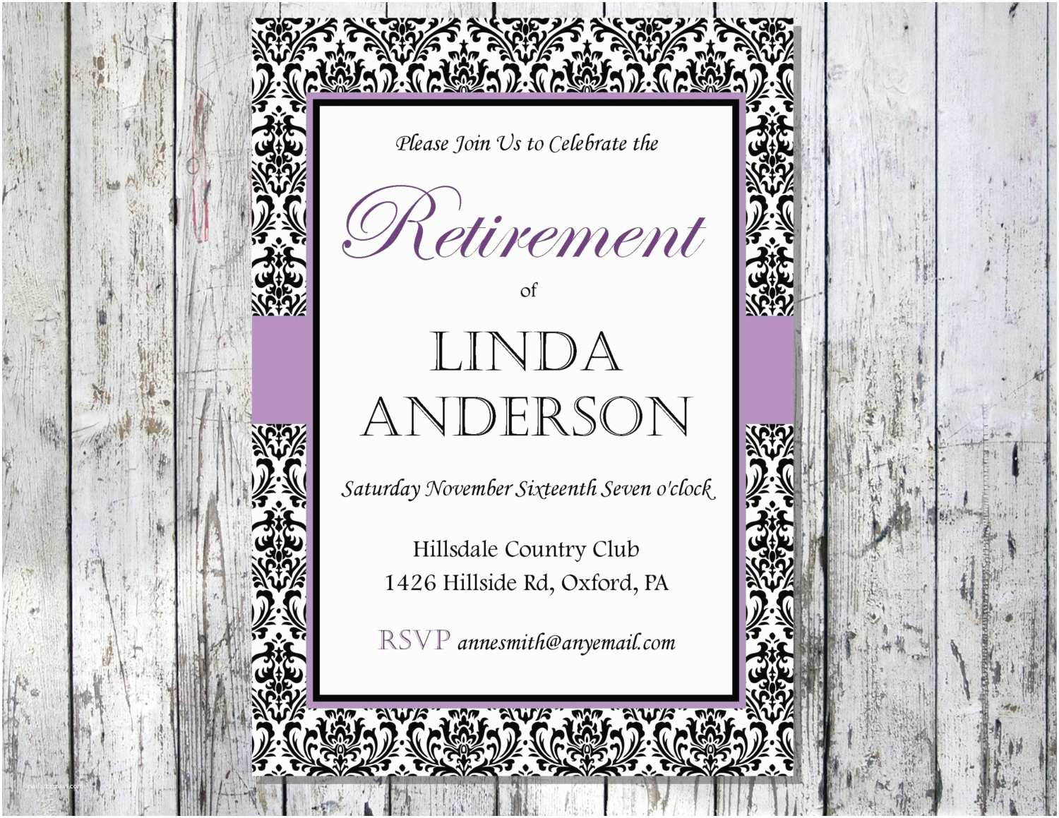 photo regarding Free Printable Retirement Invitations named Retirement Social gathering Invitation Template Free of charge Free of charge Printable