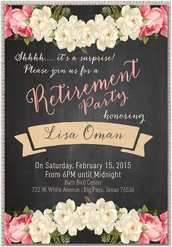 Retirement Party Invitation Template Free Retirement Party Invitation 7 Premium Download