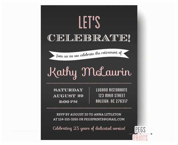 Retirement Party Invitation Template Retirement Party Invitation Retirement Party Invites