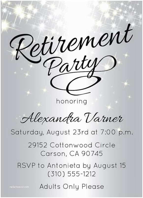 Retirement Party Invitation Template Retirement Party Invitations Templates – Gangcraft