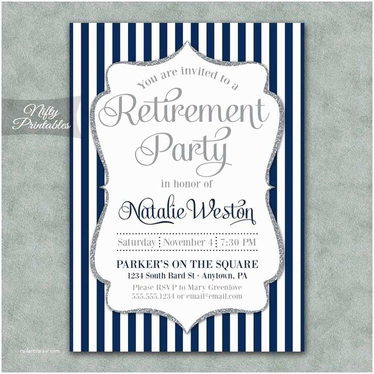 Retirement Party Invitations 17 Best Ideas About Retirement Invitations On Pinterest