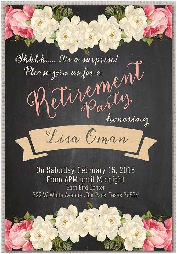 Retirement Party Invitations Retirement Party Invitation 7 Premium Download