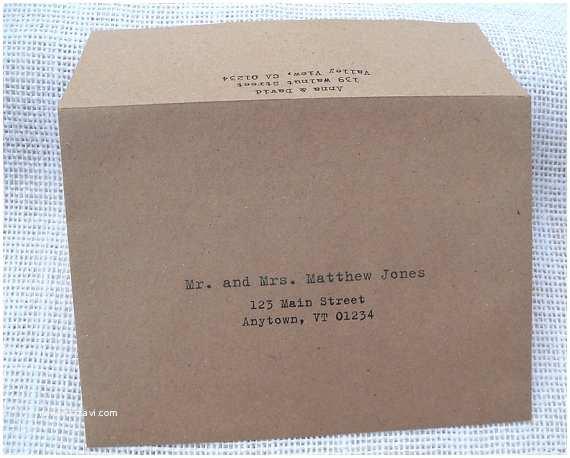 Return Address On Wedding Invitations Items Similar to Wedding Invitation Envelope Calligraphy