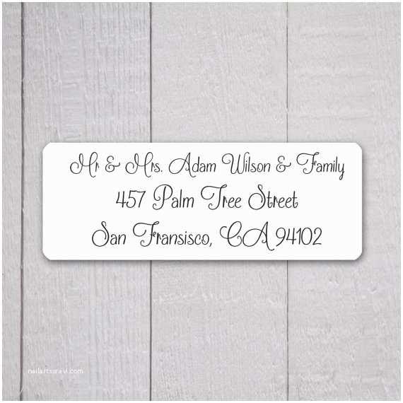 Return Address On Wedding Invitations Wedding Invitation Return Address Labels Wedding Stickers