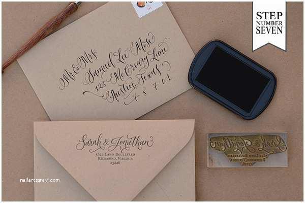 Return Address Wedding Invitations Return Address Stamp for Wedding Invitations