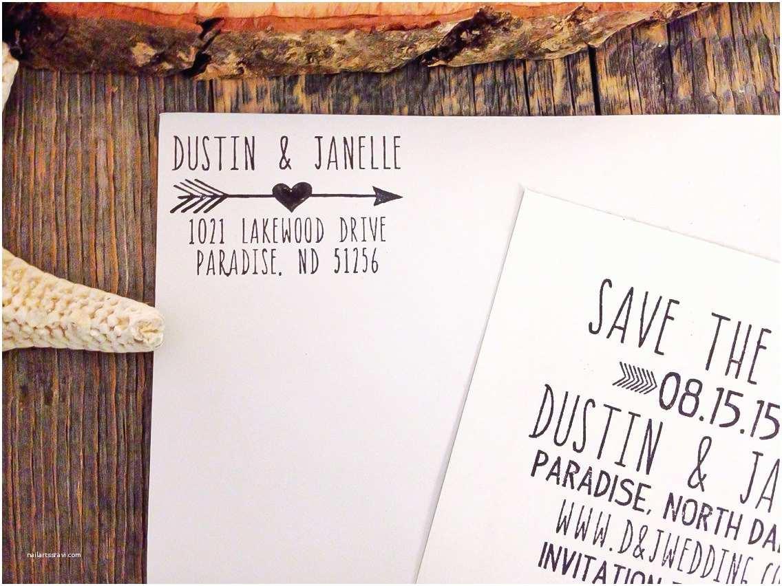 Return Address Wedding Invitations Return Address Stamp Wedding Invitation Stamp Personalized