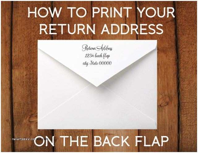 Return Address Wedding Invitations Wedding Invitation Lovely Return Address Wedding