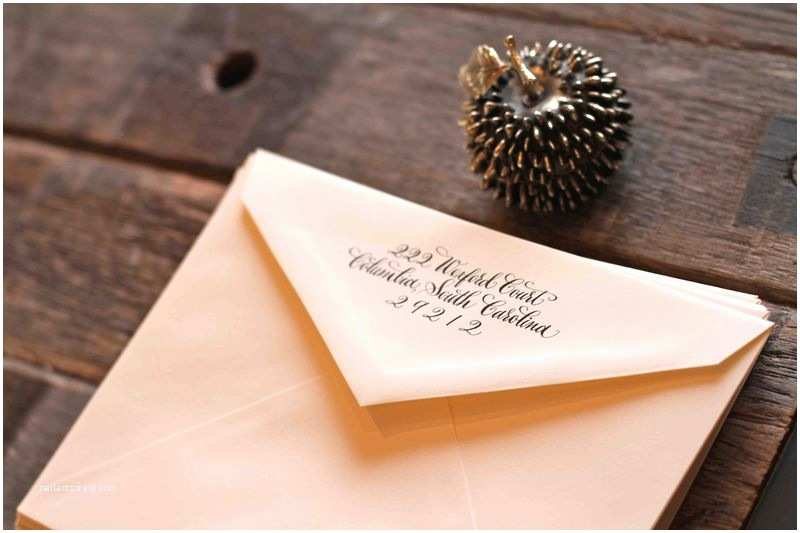 Return Address Wedding Invitations Wedding Invitation Outside Envelope Return Address