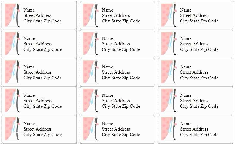 12 awesome printable address labels